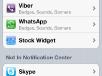 iOS5 GM Notification Center