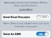 iOS5 GM Setting
