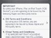 iOS5 GM Setup