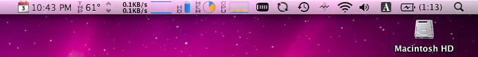 iStat Menus V.2.0 on Snow Leopard