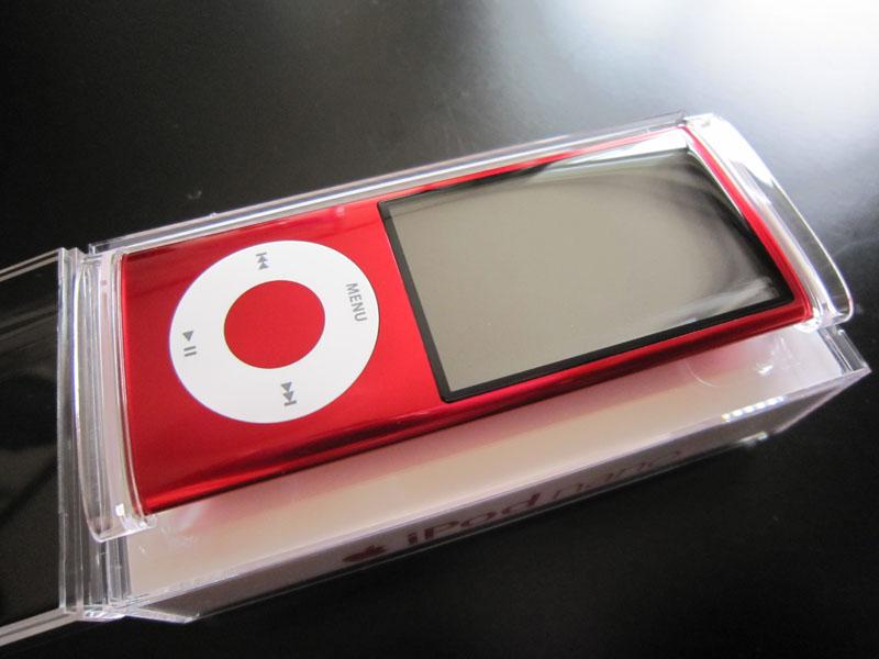 iPod nano 5G RED 1