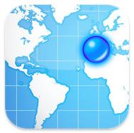 iPhone, iPad App: Google Mapsの「マイプレイス」マップを表示出来る地図App – My Maps Editor