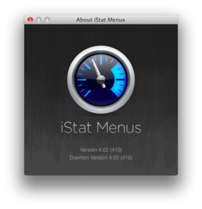 iStat Menus Version 4