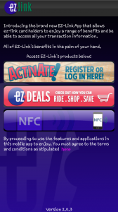 Android EZ-Link App