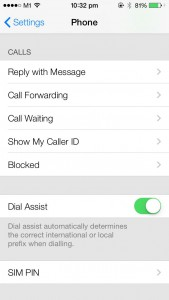 iOS 7 beta - Phone and Message, Blocked