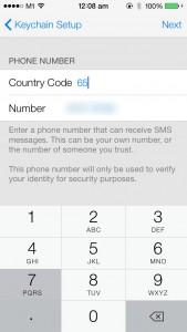 iOS 7 - iCloud - Keychain