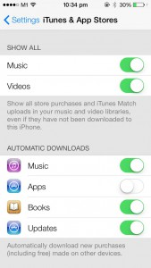 iOS 7 - App Automatic Download