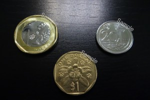 New Singapore Coin - 2013