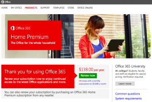MS-Office 365 Home Premium
