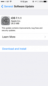 iOS 7.1.1
