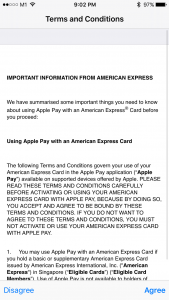 Apple Pay in Singapore with Amex