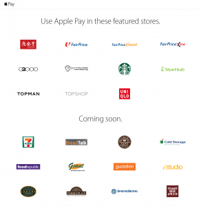 Apple Pay in Singapore
