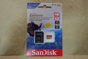 UHS U3 class MicroSD card