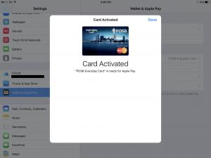 Apple Pay - iPad
