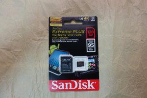 SanDisk Extreme PLUS microSDXC UHS-I Card 128GB